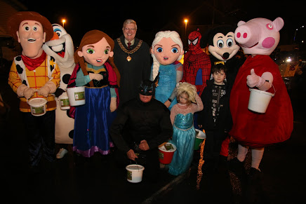 disney characters with the mayor