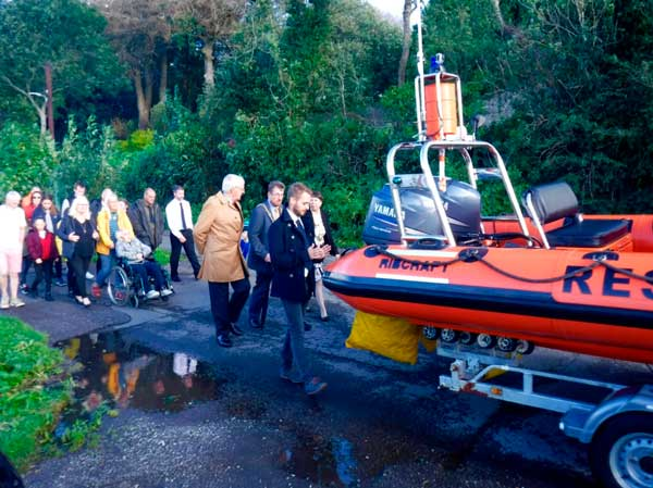 Lifeboat Blessing Procession