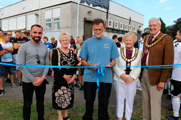 Opening Loughor Rovers' New Football Ground