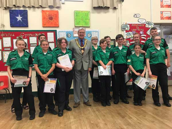 St John's Ambulance Award Presentation