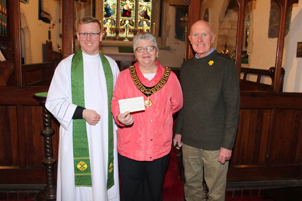 Donation to St Michael's Restoration Fund
