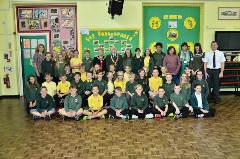 Pontybrenin English School to present pens