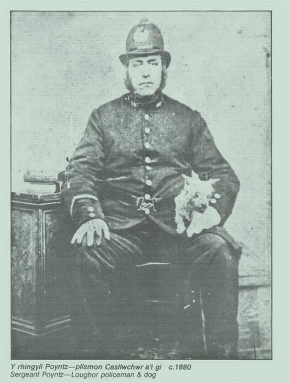 Picture of a policeman